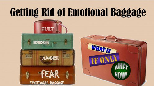 GETTING RID OF EMOTIONAL BAGGAGE